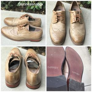 Florsheim Leather Wingtip Oxford Shoes